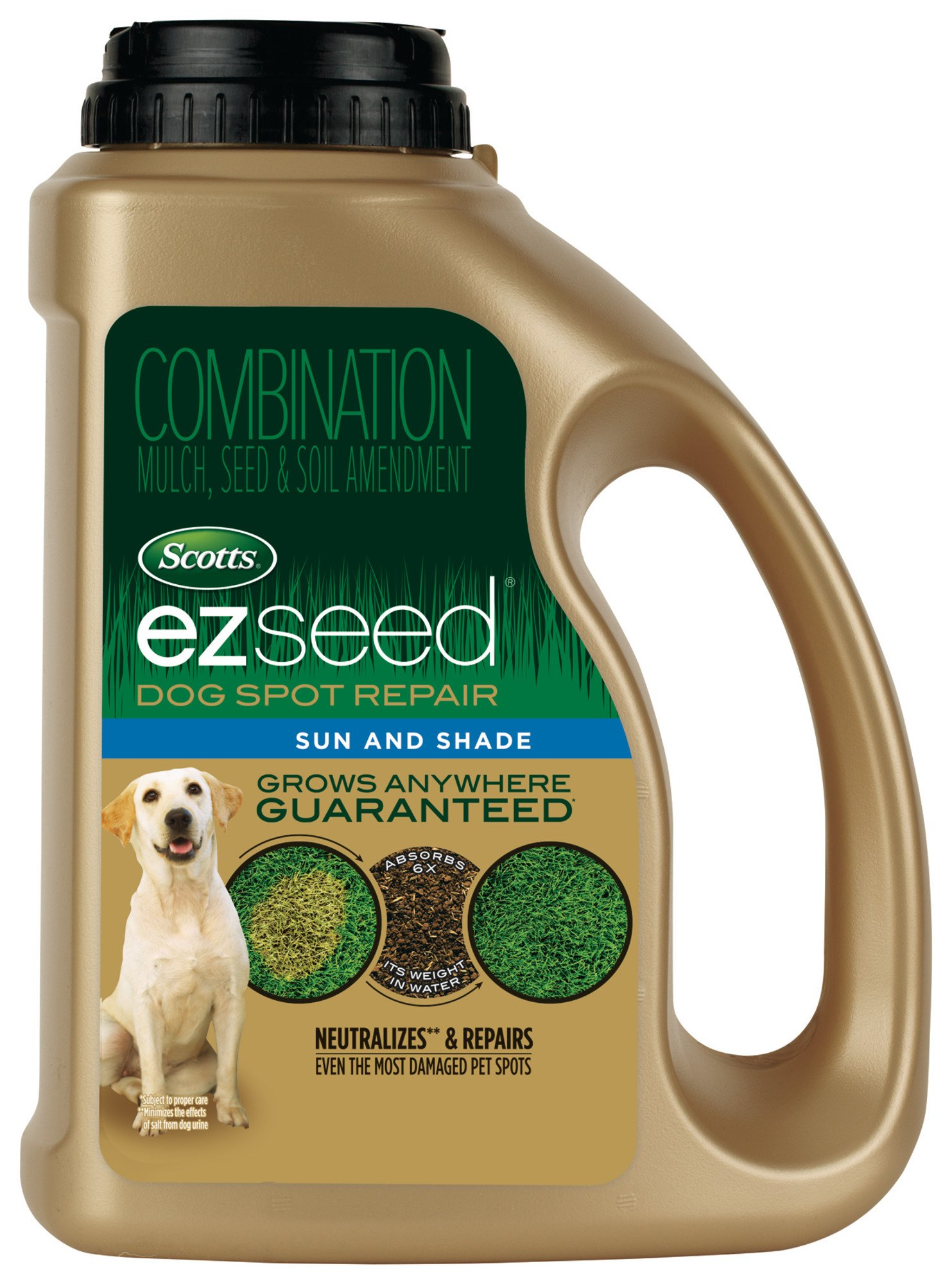 Scotts EZ Seed Sun & Shade 17530 Dog Spot Repair, 2 LB by Scotts
