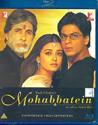 Image result for mohabbatein 200 brrip cover