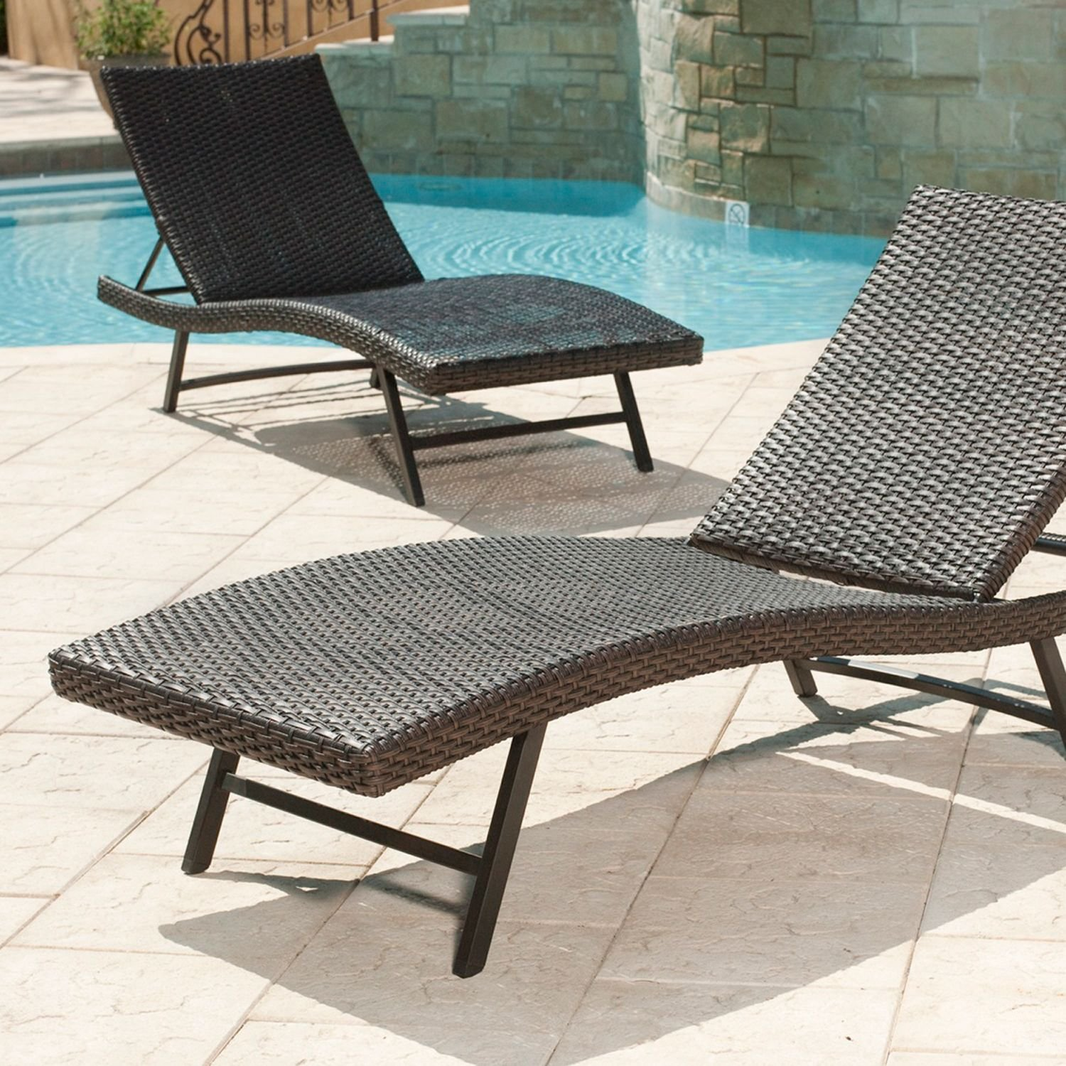 Amazon Member s Mark Heritage Chaise Lounge Chair Patio