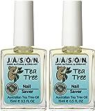 Jason Tea Tree Oil Nail Saver - 0.5 oz - 2 pk