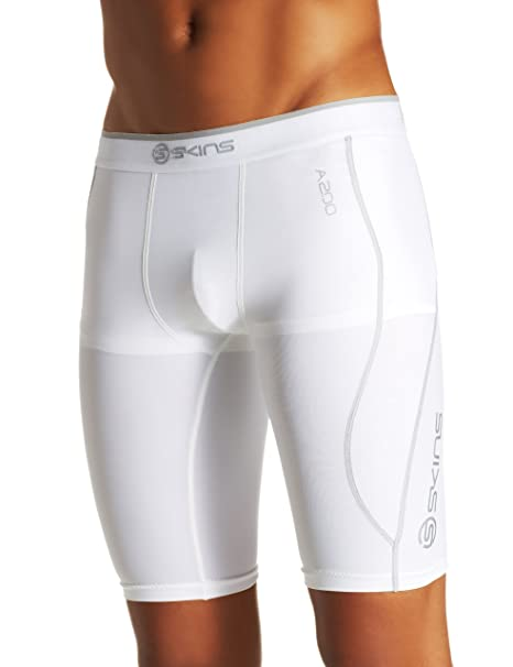 6f3ad12c84 Amazon.com: Skins A200 Men's Compression Half Tights: Clothing