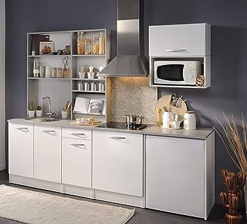 Wohnorama Küchenblock Ohne E-Geräte u Spüle Spoon Natura 1 von ...