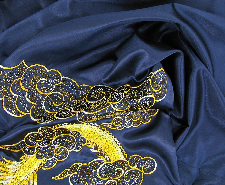 nero Kimono giapponesi per uomo Blu o Rosso colore