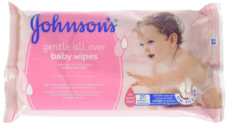 Johnsons baby - Toallitas para bebe suavidad en cada paso, 20 uds: Amazon.es: Amazon Pantry