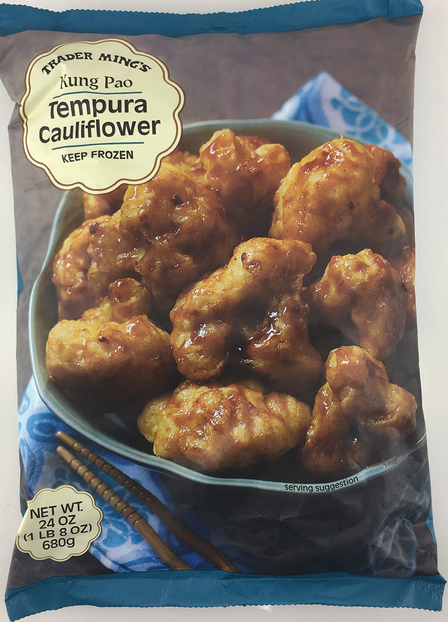 Trader Joe's Kung Pao Tempura Cauliflower (4 Pack)