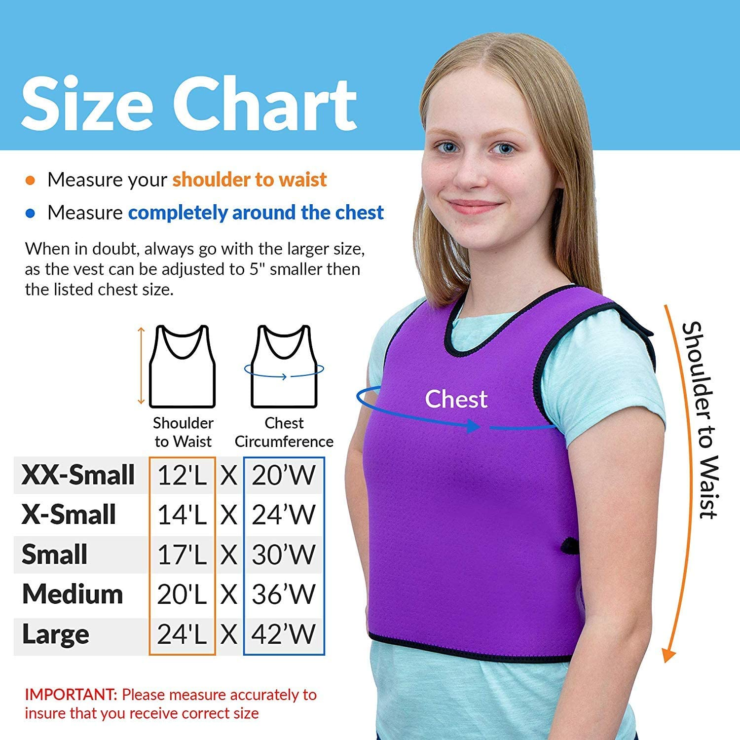 Special Supplies Sensory Compression Vest Deep Pressure Comfort for Autism Mood Processing Disorders Form-Fitting Kids and Adults Breathable Hyperactivity Black, Medium 20x36 inches