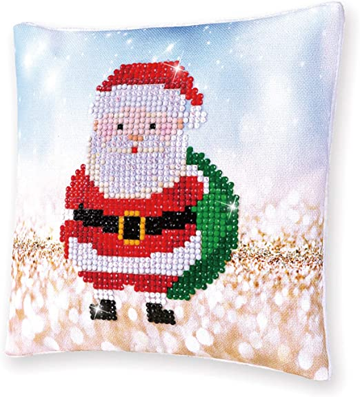 Diamond Dotz Embroidery Facet Art Kit Beginner Christmas Gifts Mini Pillow