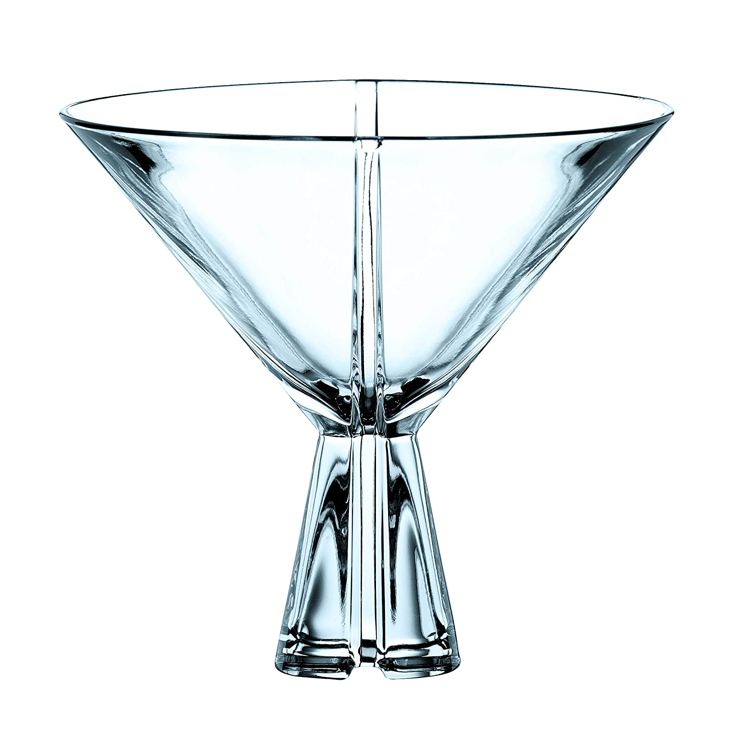 Nachtmann Havanna Lead Crystal Martini Glass, Set of 6 Nachtmann Crystal 0068584-0
