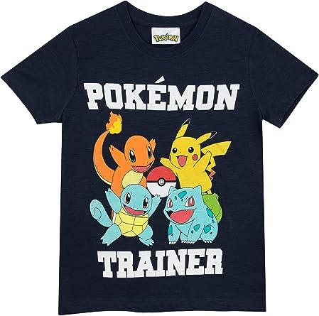 Pokemon - Camiseta para niño - Pokemon - 7 - 8 Años: Amazon.es: Ropa y accesorios