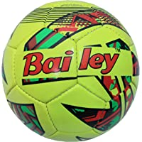 ABHAYA Bailey Machine Stitched PVC Rubber Football for Boys + Men Size 5