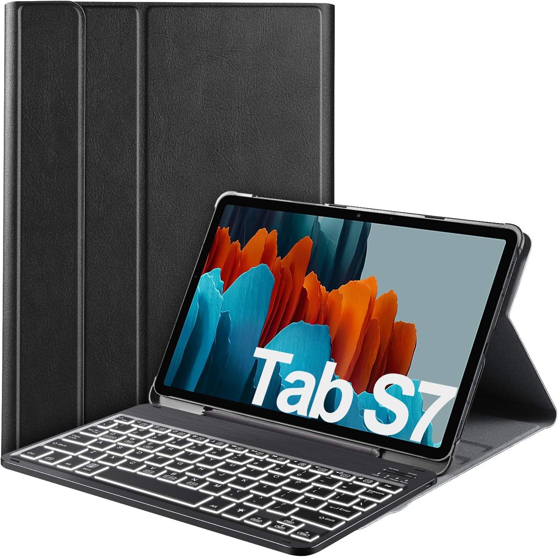 Ivso Backlit Keyboard Case For Samsung Galaxy Tab S7 Elektronik