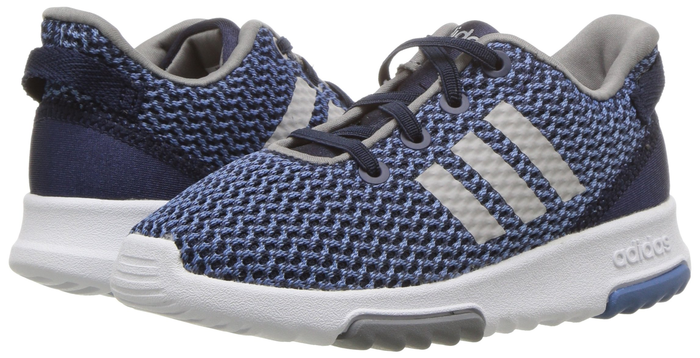 adidas Kids CF Racer TR Running Shoe, Collegiate Navy/Collegiate Navy/Grey, 5K M US Toddler by adidas (Image #6)