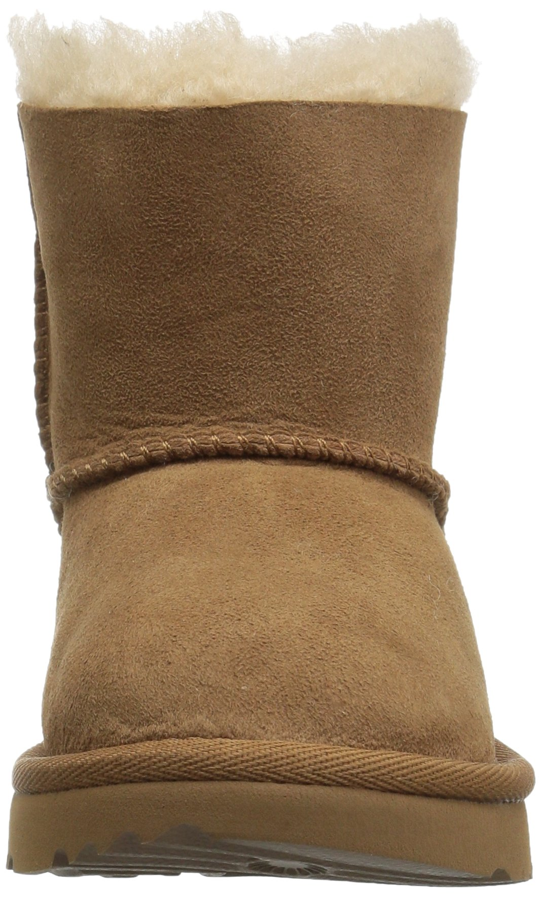 UGG Girls T Mini Bailey Bow II Pull-on Boot, Chestnut, 12 M US Little Kid by UGG (Image #4)