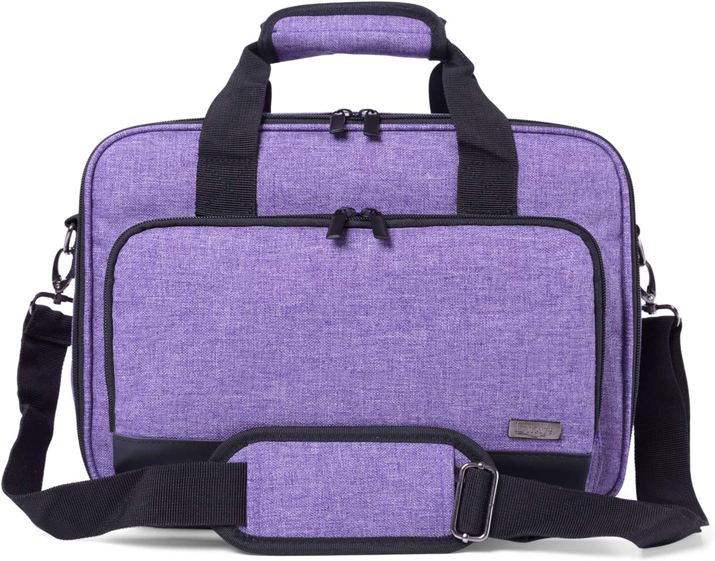 Luxja Bolsa Proyector con Funda para Laptop, Maletín Compatible ...