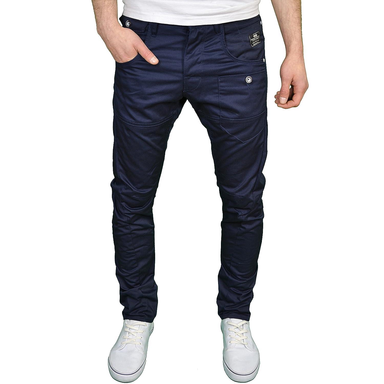 Crosshatch Jean chino coupe classique jambe fuselée couture twisted pour  homme: Amazon.fr: Vêtements et accessoires
