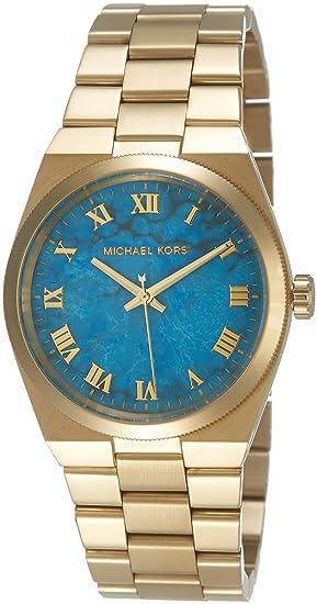 f2e0ff0590a3 Michael Kors Reloj con Correa de Piel para Mujer MK5894  Michael Kors   Amazon.es  Relojes
