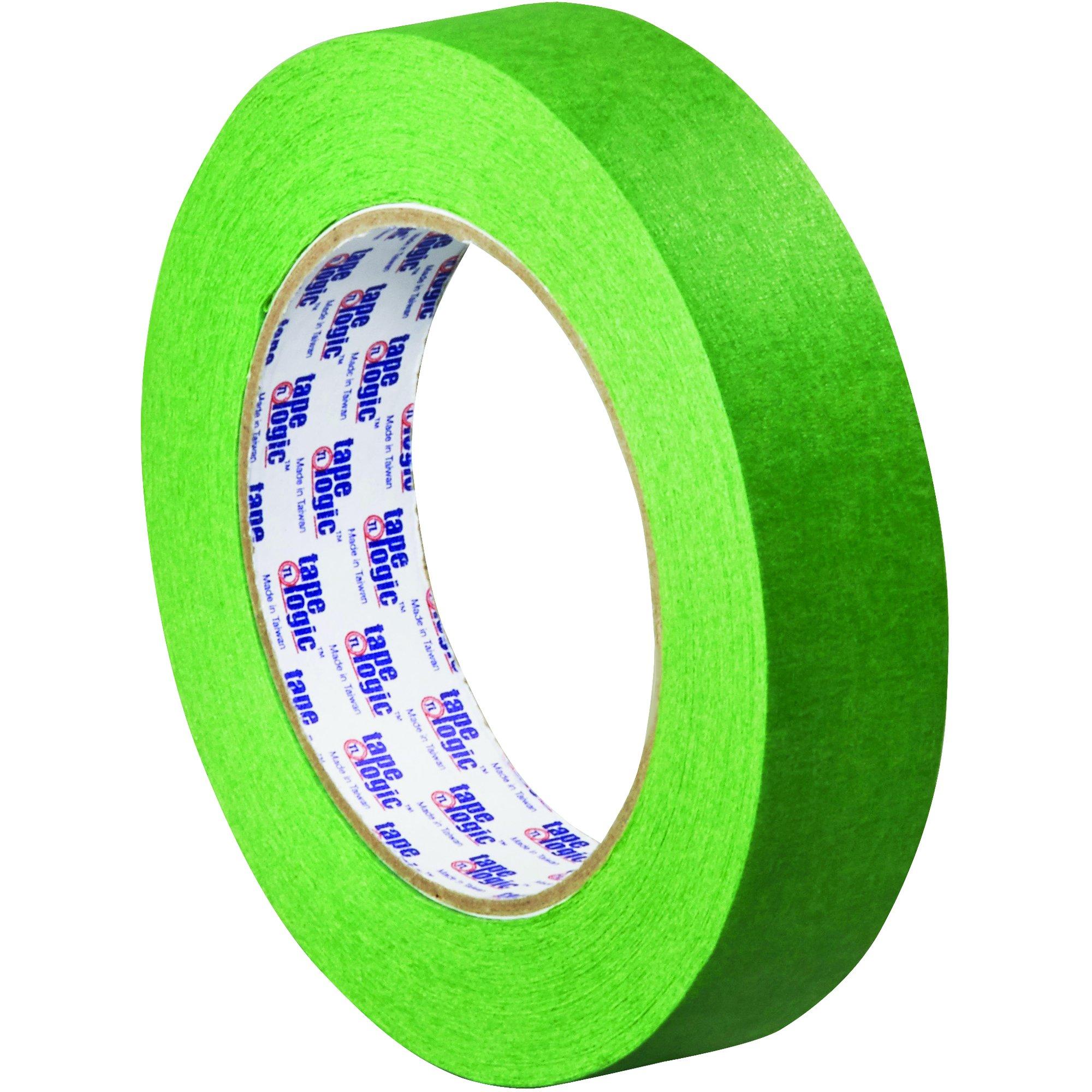 Tape Logic TLT935320012PK 3200 Painter's Tape, 5.0 Mil, 1'' x 60 yds, Green, 12/Case