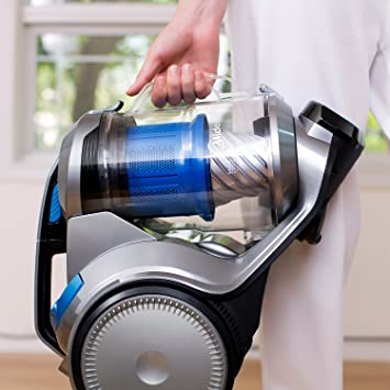 EUREKA R700 ReadyForce Multifloor Cylinder Bagless Cleaner, Washable HEPA Filters Vacuum with Cord, Allergy Safe, 700W, 3L, Plastic, 700 W, 3 liters,