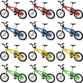 Gejoy 12 Piezas de Bicicletas de Dedo Mini Deportes Extremos ...
