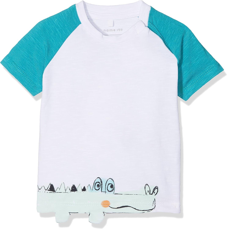 Name It Baby Boys Nbmdetus Ss Top T-Shirt