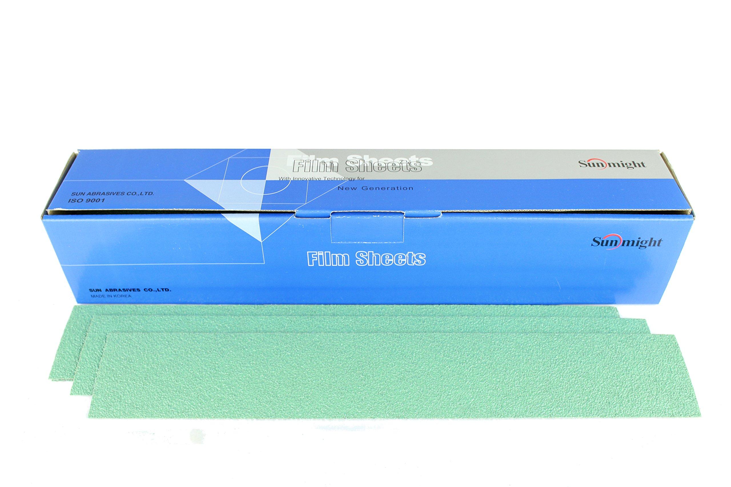 Sunmight 04403 1 Pack 2-3/4'' X 16-1/2'' Velcro File Sheet (Film Grit 40)