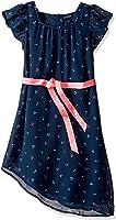 Tommy Hilfiger Girls' Cherry Printed Chiffon Dress
