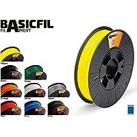 BASICFIL PLA175-500-YELLOW 1.75 mm, 500 g Filamento