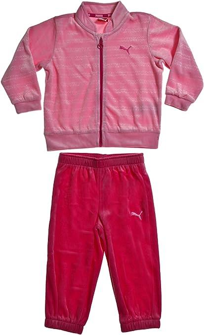 Puma - Chándal para bebé, felpa rosa rosa Talla:68: Amazon.es ...