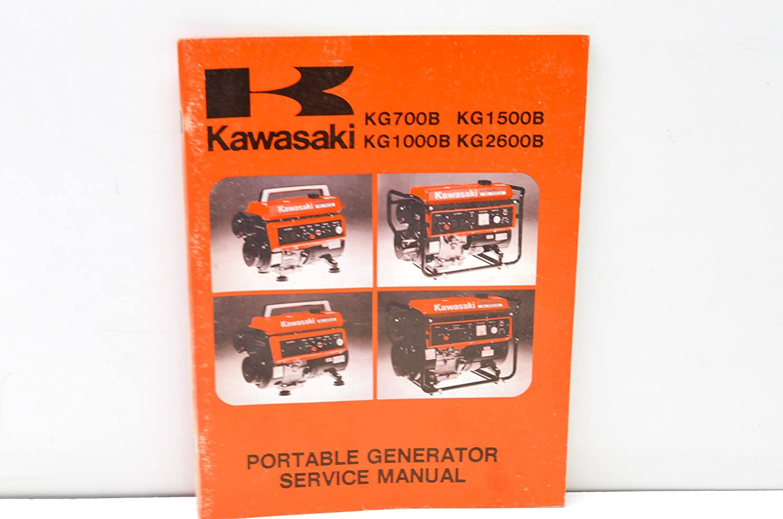 Amazon.com: Kawasaki 99964-0019-02 Portable Generator Service Manual QTY 1:  Automotive