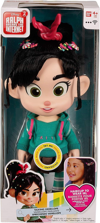 Wreck It Ralph 2 Disney's Ralph Breaks The Internet Talking Vanellope Toy