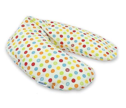 verwendbar als Schwangerschafts-Kissen und Lagerungskissen handgen/äht aus Deutschland AHOI waschbarer kuscheliger Jersey-Bezug CorpoMed Stillkissen Maxi 194x34cm Bezug Set inkl