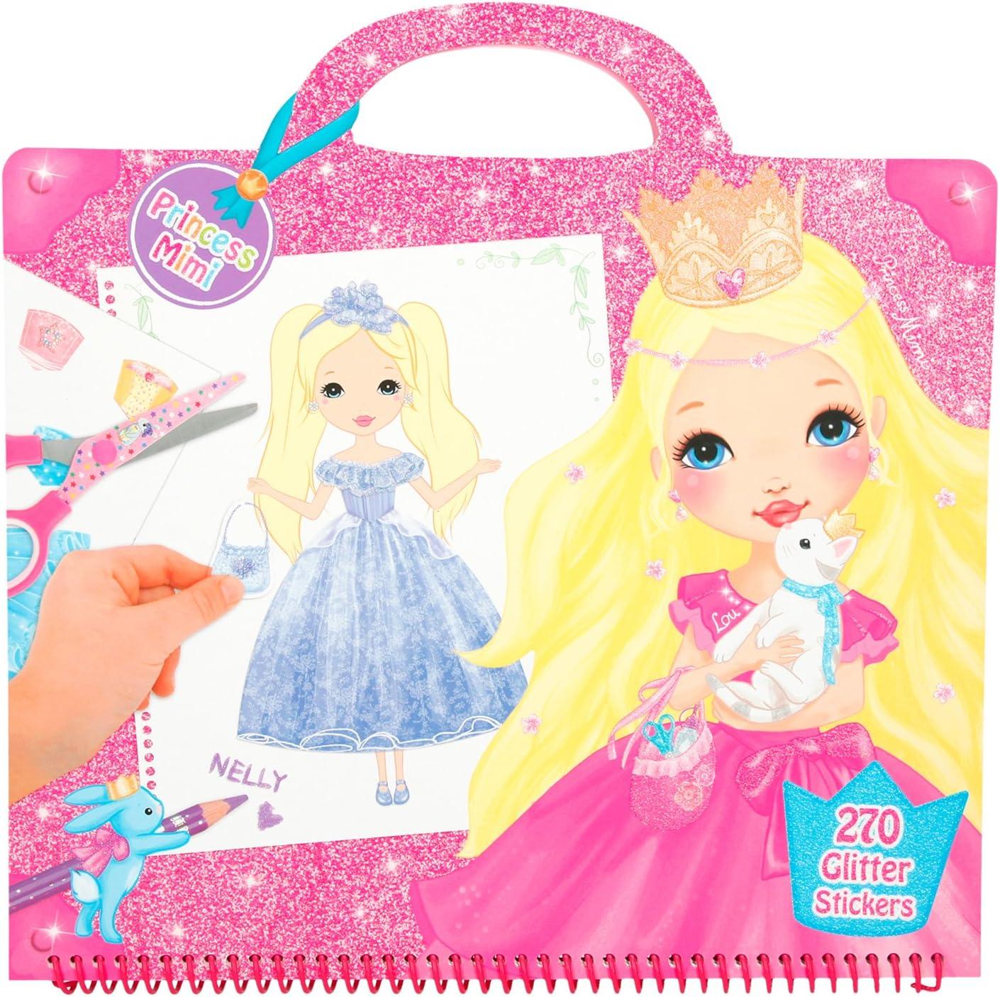 Depesche 6556–Studio Libro para Colorear, My Style Princess