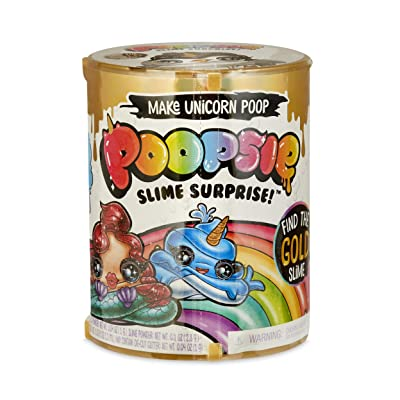 Poopsie Slime Surprise Poop Pack Drop 2 Make Magical Unicorn Poop, Multicolor: Toys & Games