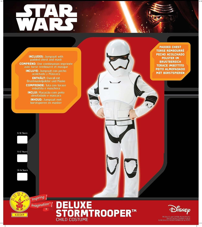 Star Wars - Disfraz de Villain Trooper Deluxe para niños 278819858250c