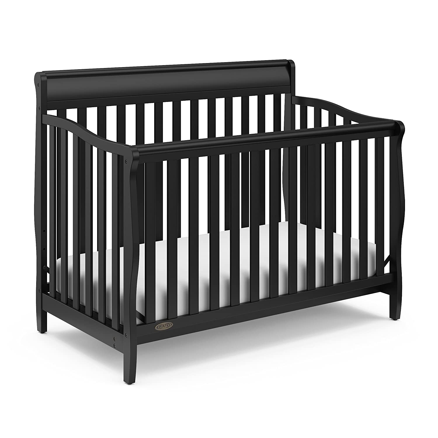 Graco Stanton 4-in-1 Convertible Crib, Black Storkcraft 04530-66B