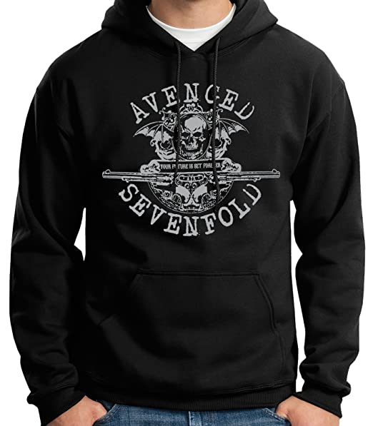 35mm - Sudadera con Capucha - Avenged Sevenfold - Your Future Is Set Forever - Hoodie