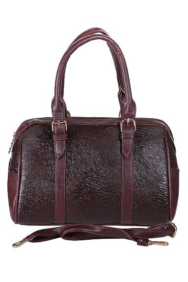 Brown P.U Messenger Bag Freya uSKlcRW