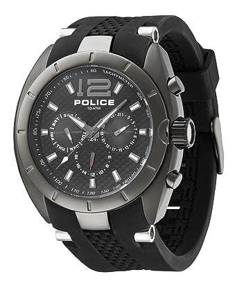 police p12676jisu 02 men clock police amazon co uk watches police p12676jisu 02 men clock