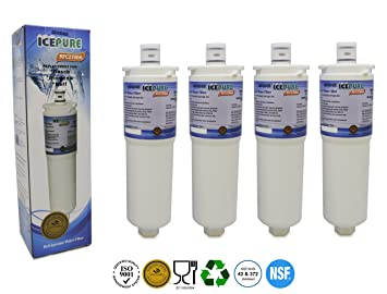 Bosch Kühlschrank Wasser Läuft Aus : 4 x icepure rfc2700 a siemens bosch neff cs52 kompatibel kühlschrank