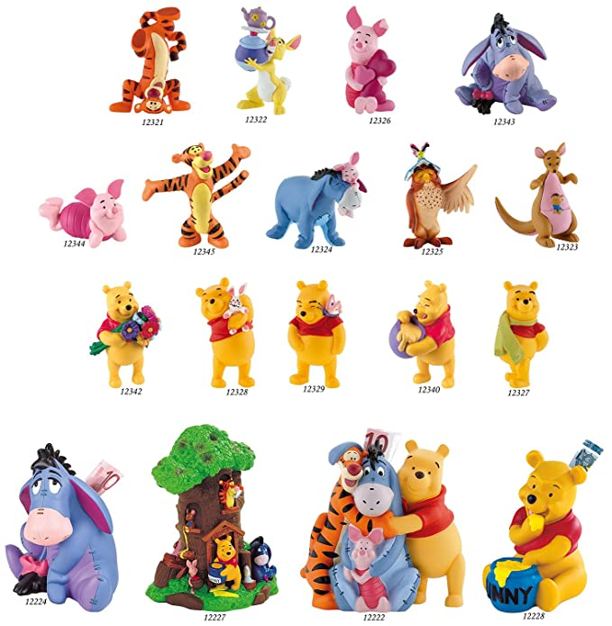 Winnie the Pooh with Honey figure Disney/'s BULLYLAND 12340