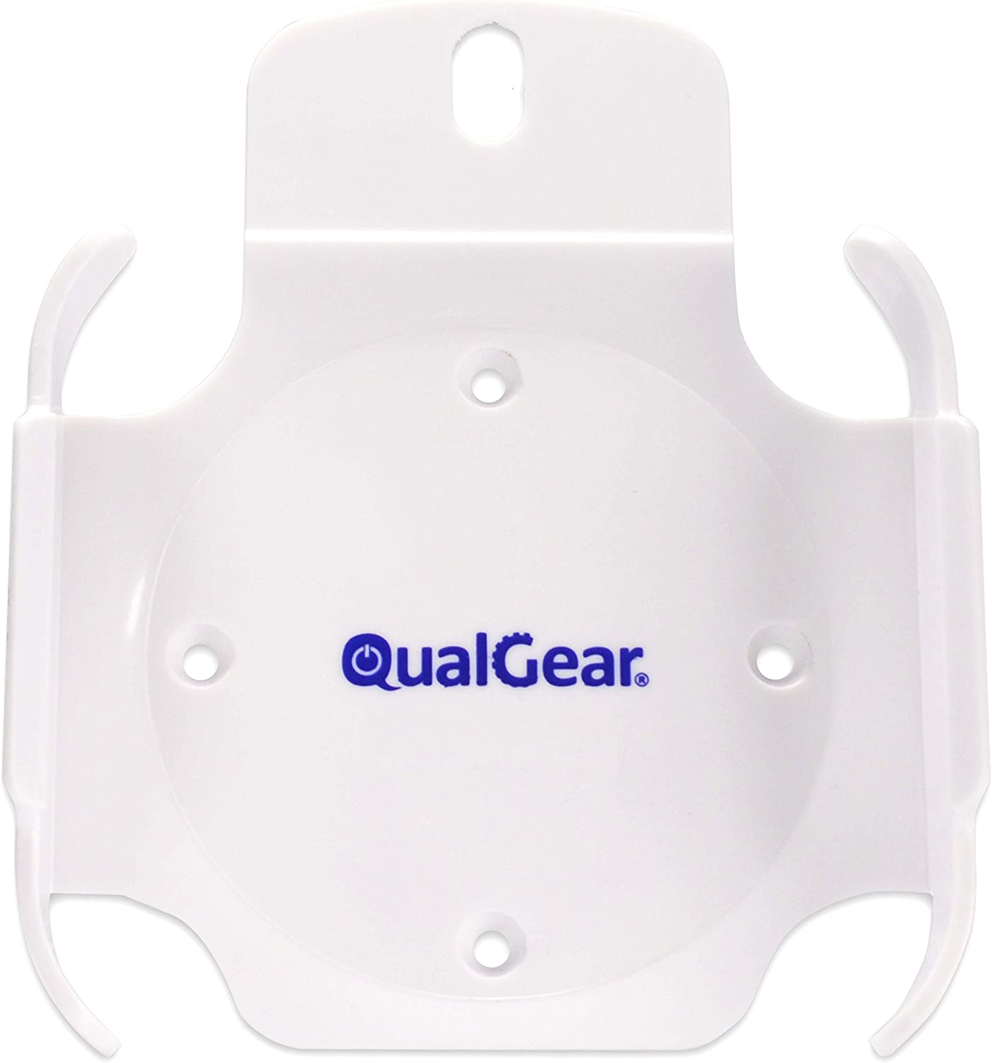 QualGear QG-AM-017-W Mount for Apple TV/AirPort Express Base Station (For 2nd & 3rd Generation Apple TVs)