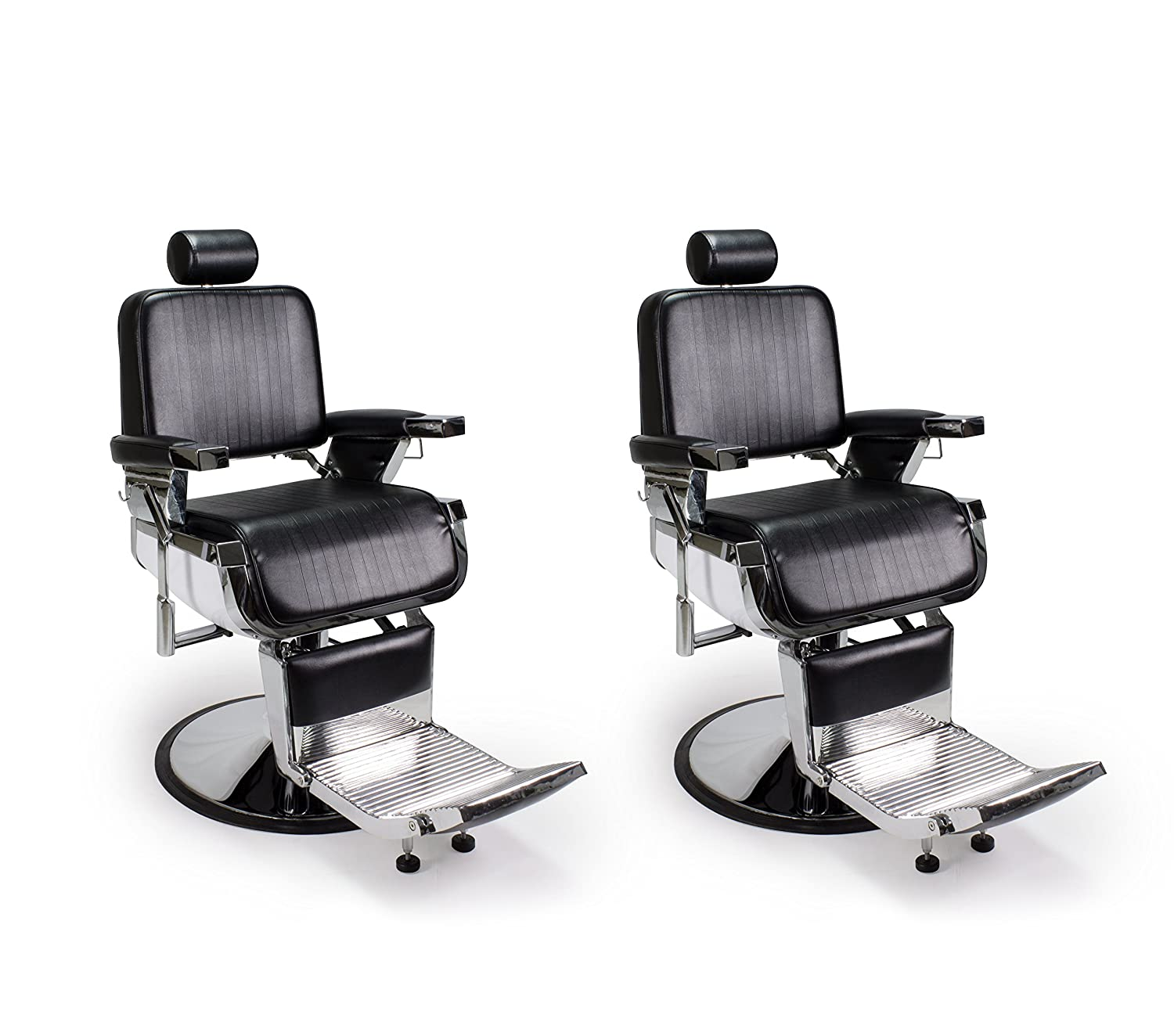 Amazon DUO 2 BLACK LINCOLN Barber Chairs Barbershop & Beauty