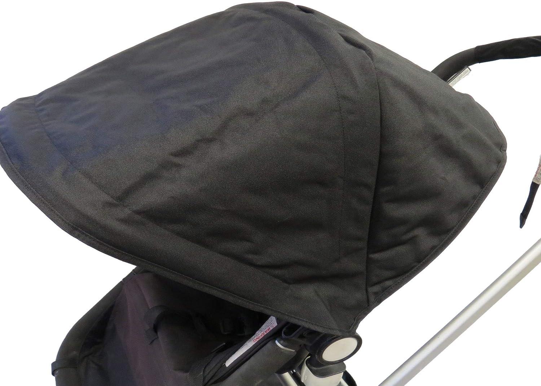 Amazon.com: Parasol negro parasol cubierta paraguas para ...