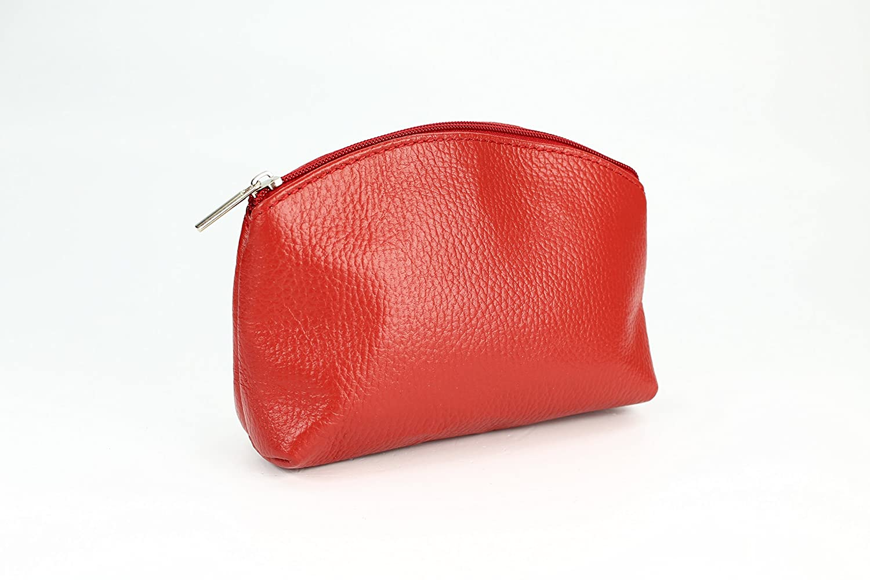 8a9cb8f71f5d3 Belli Bellini kleine Leder Kosmetiktasche Make Up Tasche Farbauswahl B x H  x T 18x13x5 cm