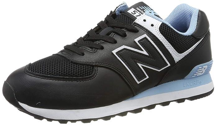 New Balance 574v2 Sneakers Herren Schwarz/Hellblau