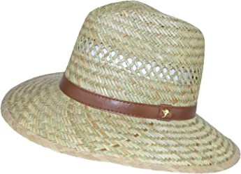 ab37b11d65d DPC Outdoor Design Men s Rush Straw Safari Hat with Kangaroo Badge Beige