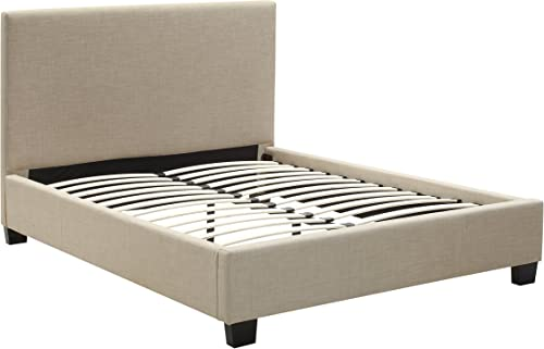 Modus Furniture Saint Pierre Linen Platform Bed