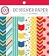 "ColorBok 71854 Carnival Designer Paper Pad 6"" x 6"""