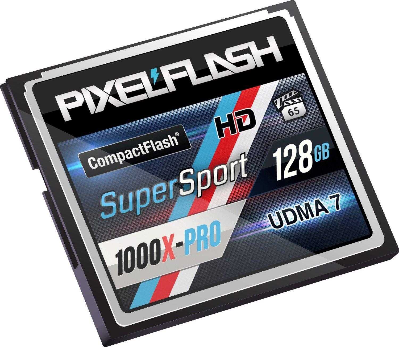 PixelFlash 128 GB 1106x Compact Flash Memory Card VPG-65 by PixelFlash (Image #4)