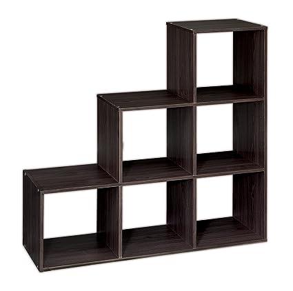 ClosetMaid 1044 Cubeicals Organizer, 3 2 1 Cube, Espresso